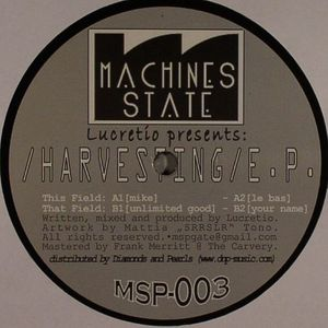LUCRETIO - Harvesting EP