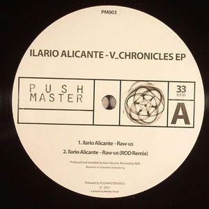 ALICANTE, Ilario - V_Chronicles EP