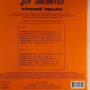 JOY UNLIMITED - Instrumental Impressions