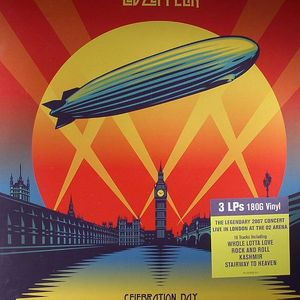 LED ZEPPELIN - Celebration Day: The Legendary 2007 Concert Live In London At The O2 Arena