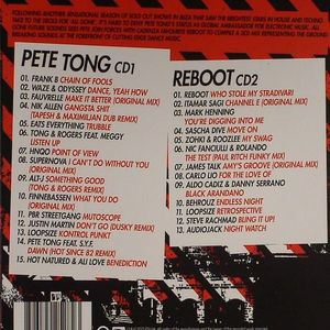 TONG, Pete/REBOOT/VARIOUS - All Gone Future Sounds: Pete Tong & Reboot