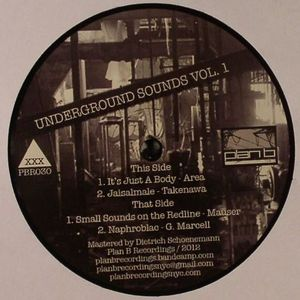 AREA/TAKENAWA/MAUSER/G MARCELL - Underground Sounds Vol 1