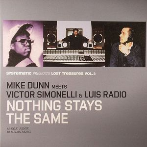DUNN, Mike meets VICTOR SIMONELLI/LUIS RADIO - Lost Treasures Vol 3: Nothing Stays The Same