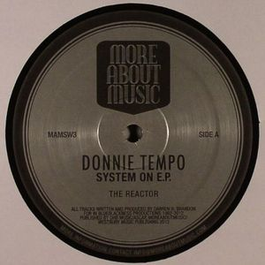 DONNIE TEMPO - Systems On EP