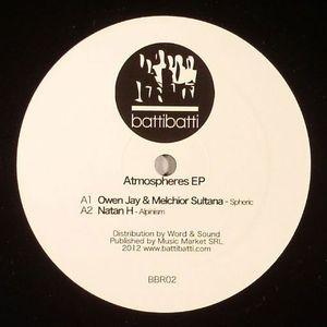 JAY, Owen/MELCHIOR SULTANA/NATAN H/CLEVELAND/BITTERSUITE - Atmospheres EP