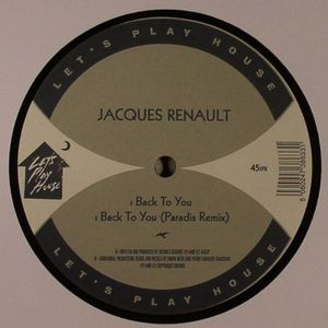 RENAULT, Jacques - Back To You