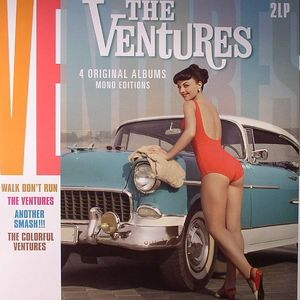 VENTURES, The - 4 Original Albums: Mono Editions (remastered)