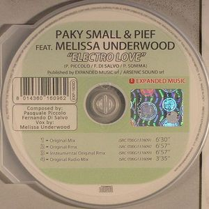 PAKY SMALL/PIEF feat MELISSA UNDERWOOD - Electo Love
