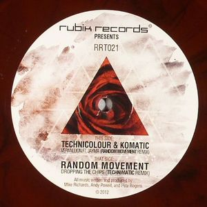 TECHNICOLOUR/KOMATIC/RANDOM MOVEMENT - Vermillion (remixes)