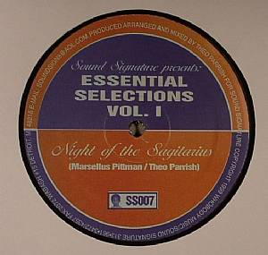 PITTMAN, Marcellus/THEO PARRISH - Essential Selections Volume 1 EP