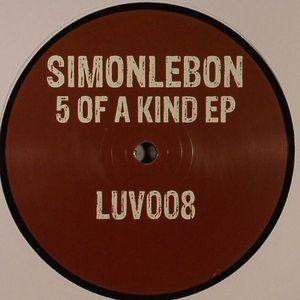 SIMONLEBON/JAKOBIN/LESALE/LEE STEVENS/DOMINO - 5 Of A Kind EP