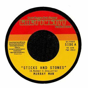 MURRAY MAN/MIGHTY PROPHET/RUSS D - Sticks & Stones
