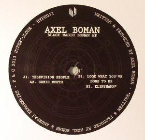 BOMAN, Axel - Black Magic Boman EP