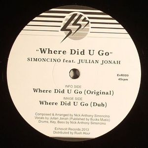 SIMONCINO feat JULIAN JONAH - Where Did U Go