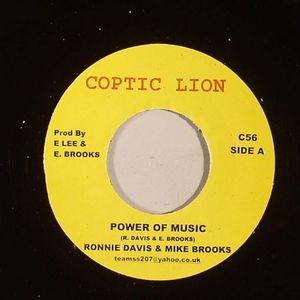 DAVIS, Ronnie/MIKE BROOKS - Power Of Music