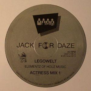 LEGOWELT - Elementz Of Houz Music (Actress remixes)