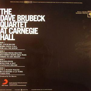 Dave Brubeck Quartet The Dave Brubeck Quartet At Carnegie