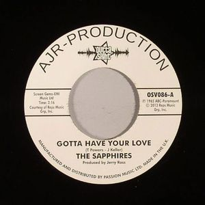SAPPHIRES, The - Gotta Have Your Love