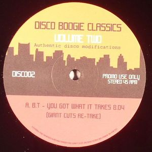 DISCO BOOGIE CLASSICS - Disco Boogie Classics Volume 2