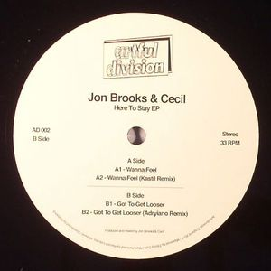 BROOKS, Jon/CECIL - Here To Stay EP