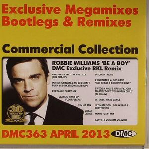 VARIOUS - DMC Commercial Collection 363: April 2013 (Strictly DJ Use Only)