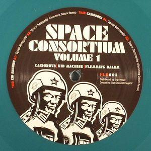 CASIONOVA/KID MACHINE/FLEMMING DALUM - Space Consortium Volume 1