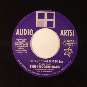 INCREDIBLES, The/AUDIO ARTS STRINGS - There's Nothing Else To Say