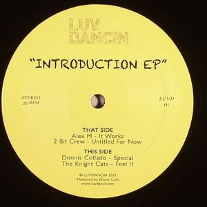 ALEX M/2 BIT CREW/DENNIS COLLADO/THE KNIGHT CATS - Introduction EP