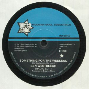 WESTBEECH, Ben - Something For The Weekend