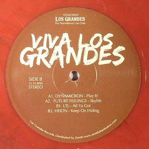 DYNAMICRON/FUTURE FEELINGS/LTJ/HEION - Viva Los Grandes EP