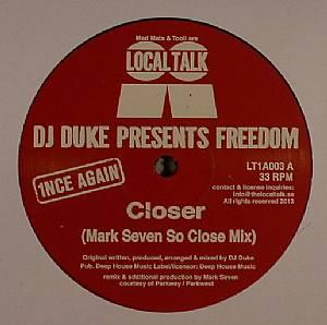 DJ DUKE presents FREEDOM - Closer