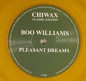 WILLIAMS, Boo - Pleasant Dream EP