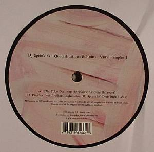 DJ SPRINKLES - Queerifications & Ruins: Vinyl Sampler 1