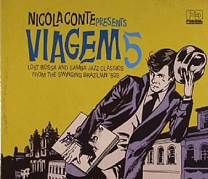 CONTE, Nicola/VARIOUS - Nicola Conte Presents Viagem 5: Lost Bossa & Samba Jazz Classics From The Swinging Brazilian 60s