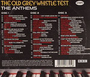 Various The Old Grey Whistle Test The Anthems Vinyl At