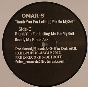 OMAR S - Thank You For Letting Me Be Myself: Part 2