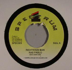 PABLO, Ras - Righteous Man