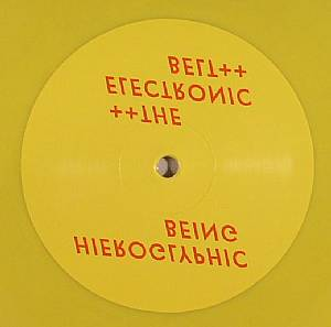 HIEROGLYPHIC BEING - The Electronic Belt