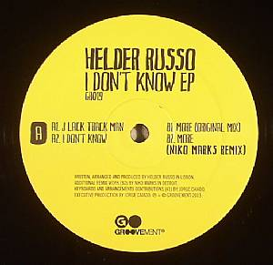 RUSSO, Helder - I Don't Know EP