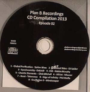 VARIOUS - Plan B Recordings: CD Compilation 2012 Episode 02