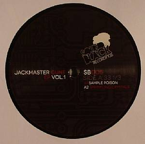 LADY BLACKTRONIKA - Jackmaster Cunt EP Vol 1