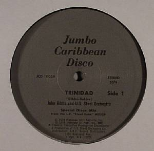 GIBBS, John/THE US STEEL ORCHESTRA - Trinidad