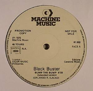 BLACK BUSTER - Bump The Bump