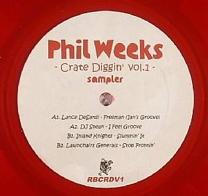 DESARDI, Lance/DJ SNEAK/INLAND KNIGHTS/LAWNCHAIR GENERALS - Phil Weeks: Crate Diggin' Vol 1 Sampler