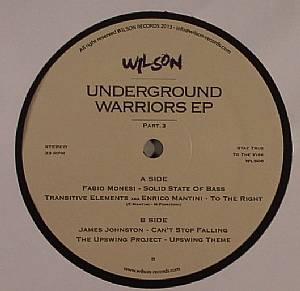 MONESI, Fabio/TRANSITIVE ELEMENTS aka ENRICO MARTINI/JAMES JOHNSTON/THE UPSWING PROJECT - Underground Warriors EP Part 3
