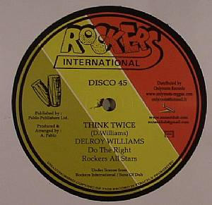 WILLIAMS, Delroy/ROCKERS ALL STARS - Think Twice
