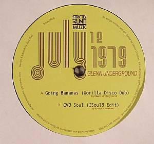 UNDERGROUND, Glenn - Going Bananas Dub