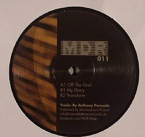 PARASOLE, Anthony - Off The Grid