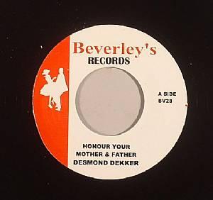 DEKKER, Desmond/JIMMY CLIFF - Honour Your Mother & Father