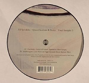 DJ SPRINKLES - Queerifications & Ruins: Vinyl Sampler 3